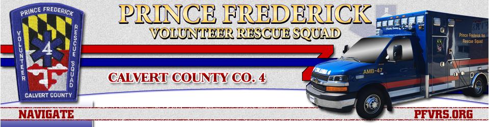 Prince Frederick Volunteer Rescue Squad